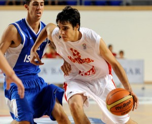 Dusan Perovic played for three Montenegro national teams before coming to SKS. Photo courtesy of Dusan Perovic