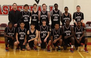 The 2012-13 Varsity Basketball team. Photo courtesy of South Kent School
