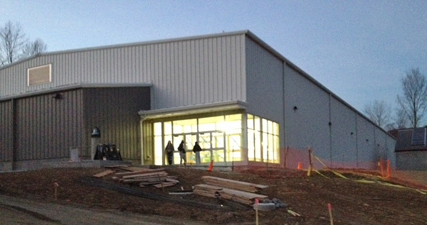 Stockdale Arena almost ready for hockey teams