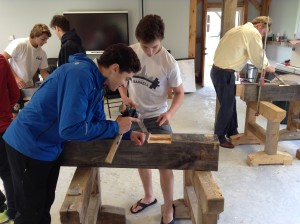 Andrew Quetell and Brandon Walkom in Historic Building Technology